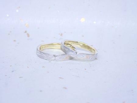 17111902木目金の結婚指輪_J004②.JPG