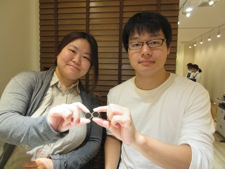 17112801木目金の婚約・結婚指輪_N001.JPG