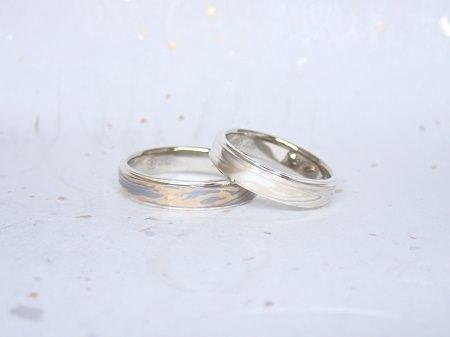 17121701木目金の結婚指輪-Y003.JPG