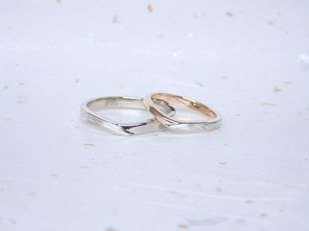 17122401木目金の婚約・結婚指輪_B004.JPG