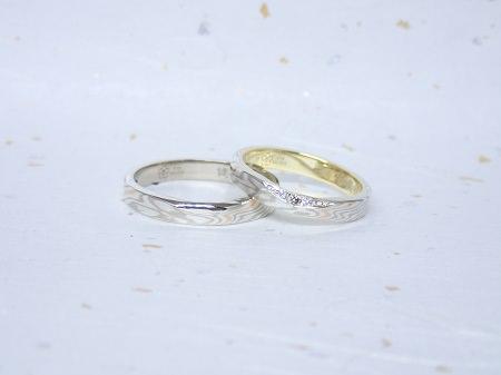 17122404木目金の結婚指輪_H001.JPG
