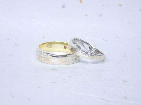 17122801木目金の結婚指輪_A001.JPG