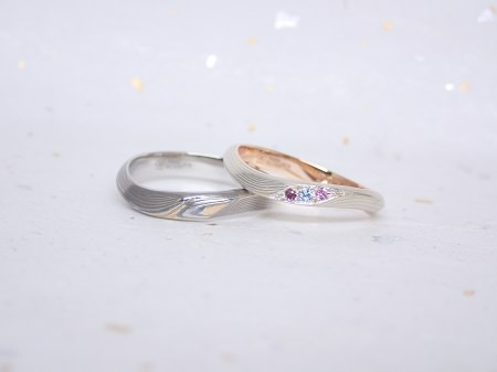 1820302木目金の婚約指輪と結婚指輪_D0042.JPG