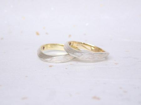 18072201 木目金の結婚指輪_B004.JPG