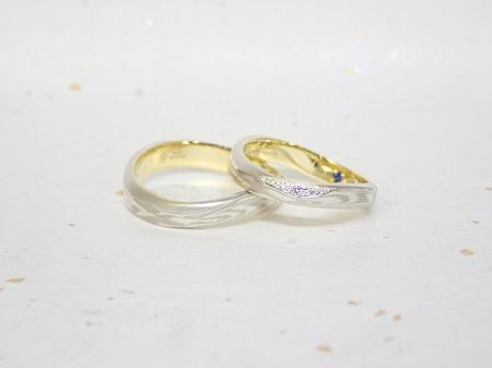 18072105木目金の婚約指輪・結婚指輪_J004.JPG