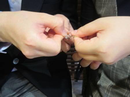 19111601木目金の婚約・結婚指輪_J002.JPG