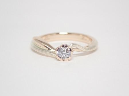 20083001 木目金の婚約指輪_M001.JPG