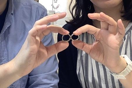20090609木目金の婚約・結婚指輪_G001.JPG