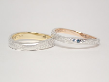 20092202木目金の婚約指輪・結婚指輪_G005.JPG