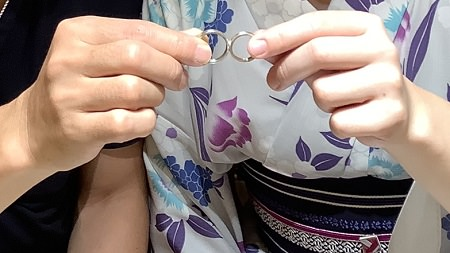 2020091201木目金の結婚指輪001.JPG