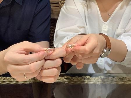 20102503木目金の結婚指輪_C002.JPG