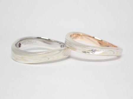 20103101木目金の婚約指輪と結婚指輪D_005.JPG
