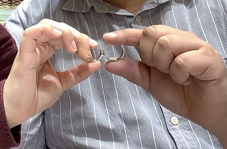 20110102木目金の結婚指輪D₋001.JPG