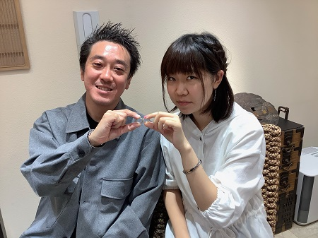20110801木目金の結婚指輪D₋001.JPG