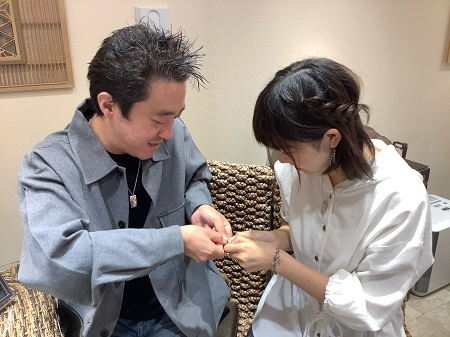 20110801木目金の結婚指輪D₋002.JPG