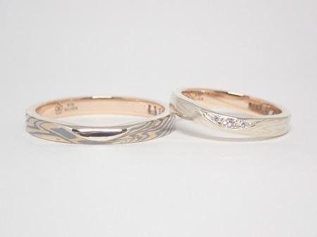 20111201木目金の婚約指輪・結婚指輪_R005.JPG