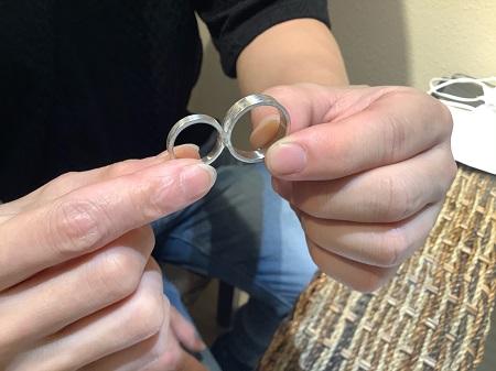 20111401木目金の結婚指輪_R001.JPG