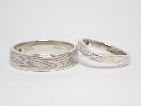 20111401木目金の結婚指輪_R004.JPG
