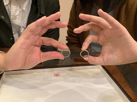 20111401木目金の結婚指輪_K002.JPG