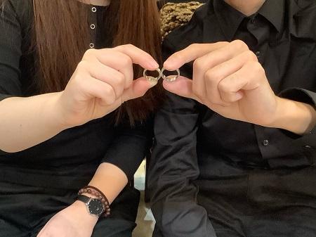 20111503木目金の結婚指輪K001.JPG
