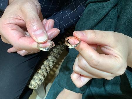 20112101木目金の婚約指輪と結婚指輪_R002.JPG