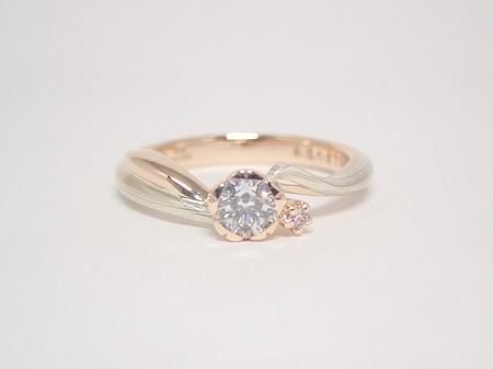 20112101木目金の婚約指輪と結婚指輪_R003.JPG