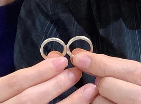 20112102木目金の結婚指輪_G001.JPG