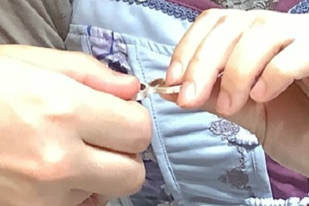20112103木目金の婚約・結婚指輪_G002.JPG
