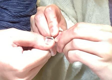 20112103木目金の結婚指輪_G002.JPG