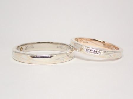 20112201木目金の婚約指輪と結婚指輪A_004-2.JPG