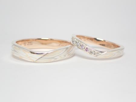 20112201木目金の婚約結婚指輪_M005.JPG