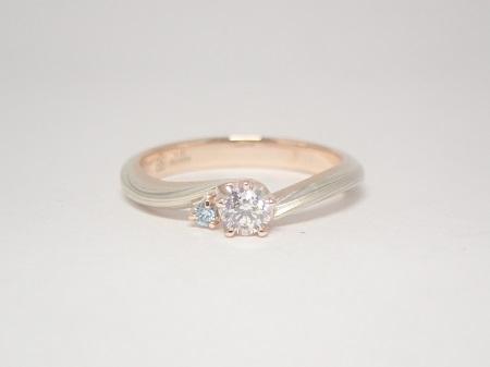 20112203木目金の婚約結婚指輪_E001.JPG