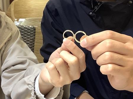 20112203木目金の結婚指輪_H001.JPG