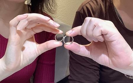 20112204木目金の結婚指輪_G001.JPG