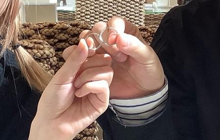 20112301木目金の結婚指輪_G001.JPG