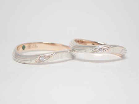 20111501木目金の結婚指輪₋D003.JPG