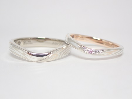 20112701木目金の結婚指輪-G-003.JPG