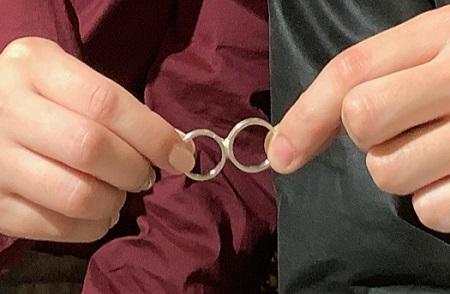 20120901木目金の結婚指輪_G001.JPG
