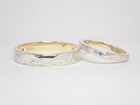 20121302木目金の婚約・結婚指輪R0005.JPG