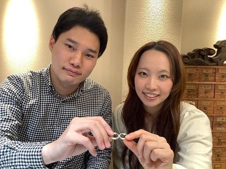20122603木目金の婚約指輪・結婚指輪_G001.JPG