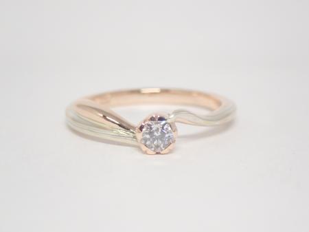20123001木目金の婚約指輪_J004.JPG