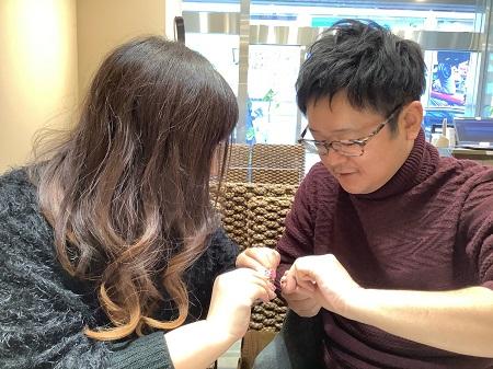 21013101木目金の婚約指輪と結婚指輪₋D002.JPG
