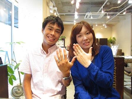 14083001木目金の結婚指輪_001.JPG