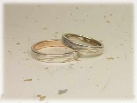 木目金の結婚指輪11100601.jpg