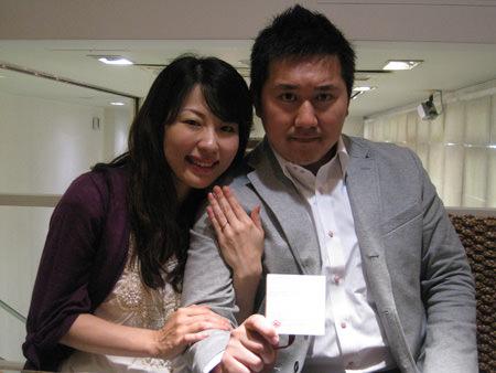 120420木目金の婚約指輪 銀座店001.JPG