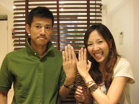 8月2日+木目金屋の結婚指輪+_銀座店002.JPG