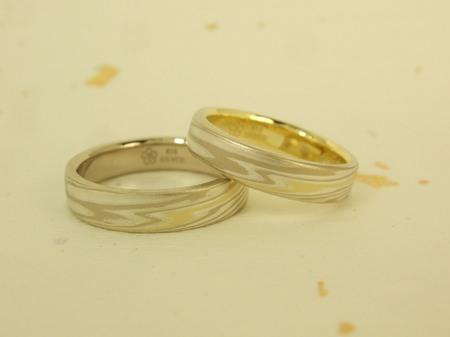 杢目金屋の結婚指輪:お渡し時.JPG