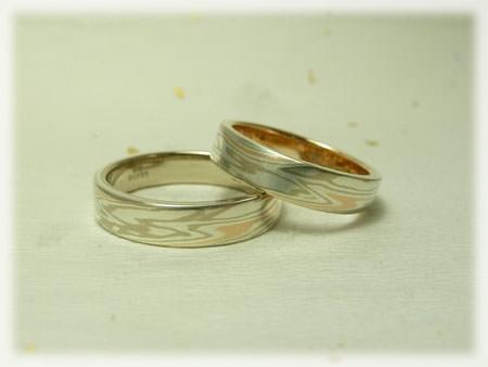 木目金の結婚指輪①11080711.jpg