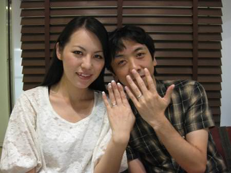 木目金の結婚指輪001.JPG