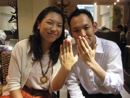 130914木目金の結婚指輪_G001.JPG